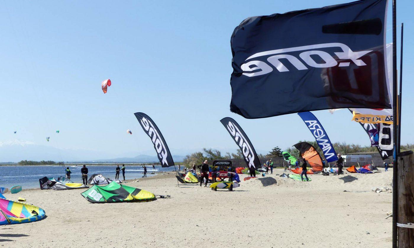 Ecole de kitesurf de leucate perpignan kite xperience - Bus perpignan port leucate ...