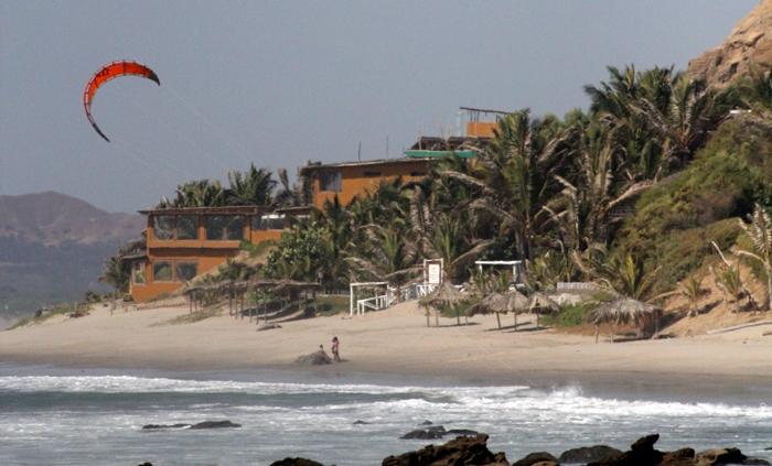 Perou - plage kite