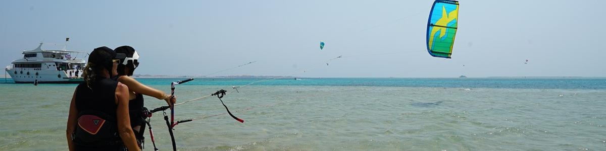 école de kite safaga