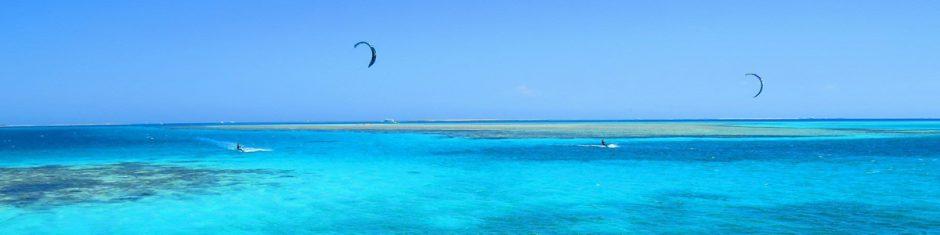 kitesurf en mer rouge