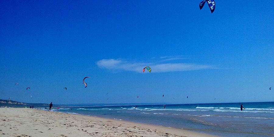 Le kitesurf au Portugal