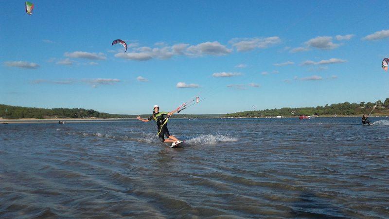 kitesurf à Lisbonne