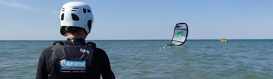 2 cours de kite offerts pour tout achat d'un stage de 5 jours