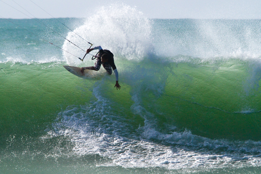 Kitesurf au Cap vert