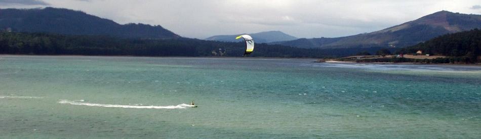 kitesurf en Galice