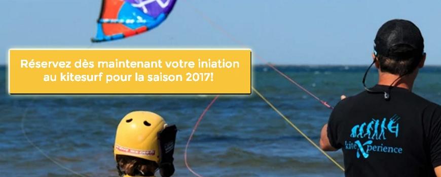 Promo du mois d'octobre 2016: l'intro au kitesurf à seulement 99 euros