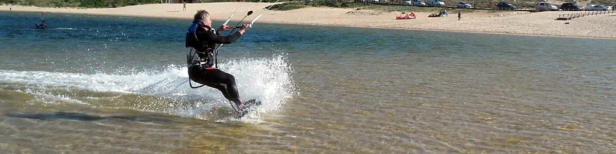 cours de kite au Portugal