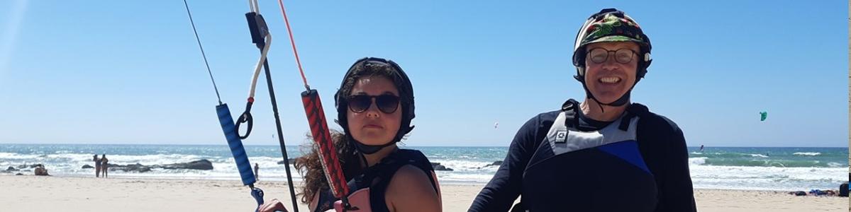 cours de kite guincho portugal