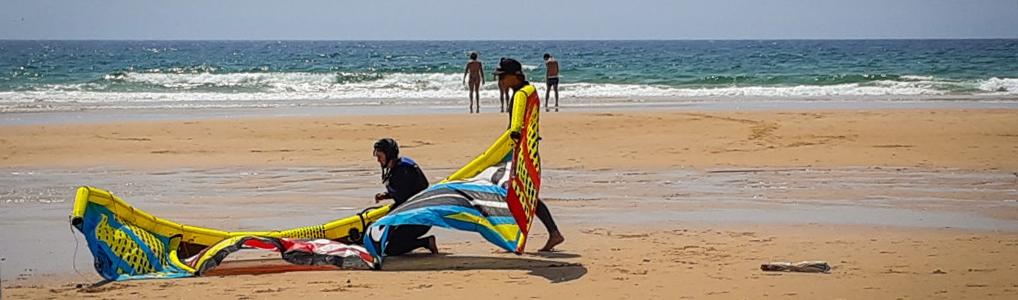 cours de kitesurf à Guincho