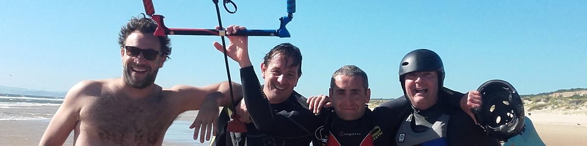 école de kitesurf Portugal