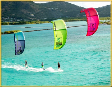 séjour kitesurf