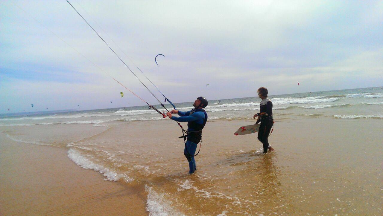 cours particulier de kitesurf cascais