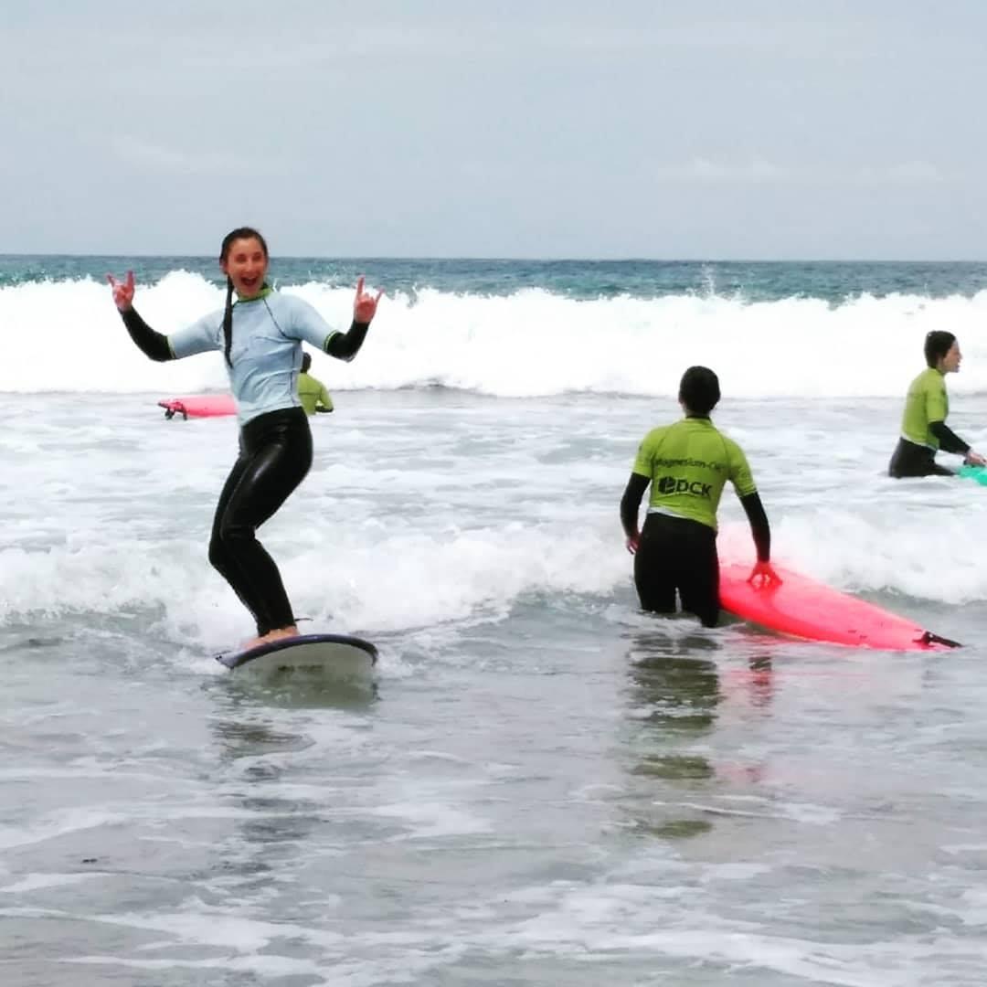 cours de surf guincho