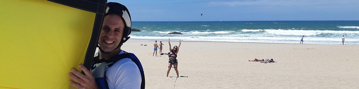 école de kitesurf à Guincho