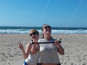 découverte kitesurf lisbonne