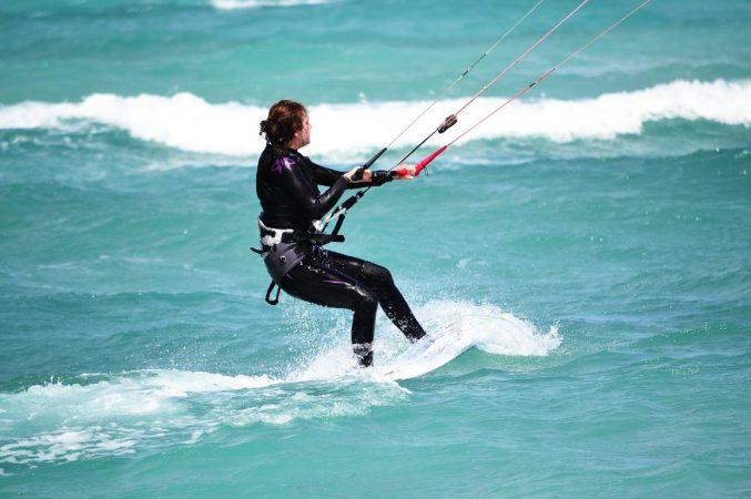 école de kitesurf au cap vert perfectionnement