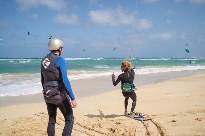 école de kitesurf au cap vert cours de perfectionnement