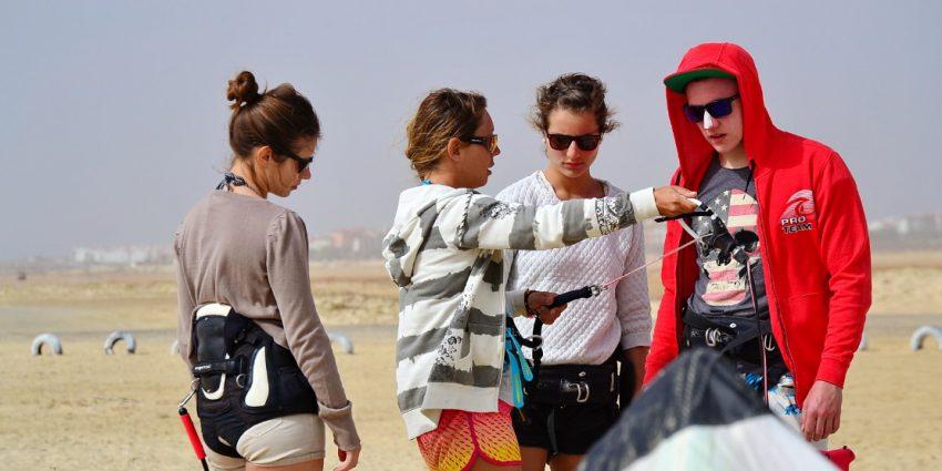 école de kitesurf au cap vert cours de kite