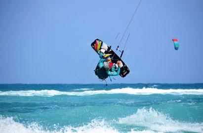 école de kitesurf au cap vert cours avancé