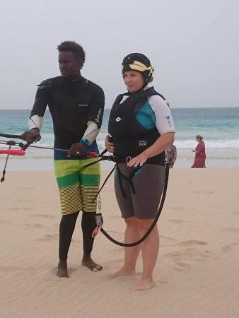 ècole de kitesurf boa vista