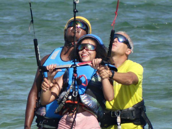 école de kitesurf Bilene