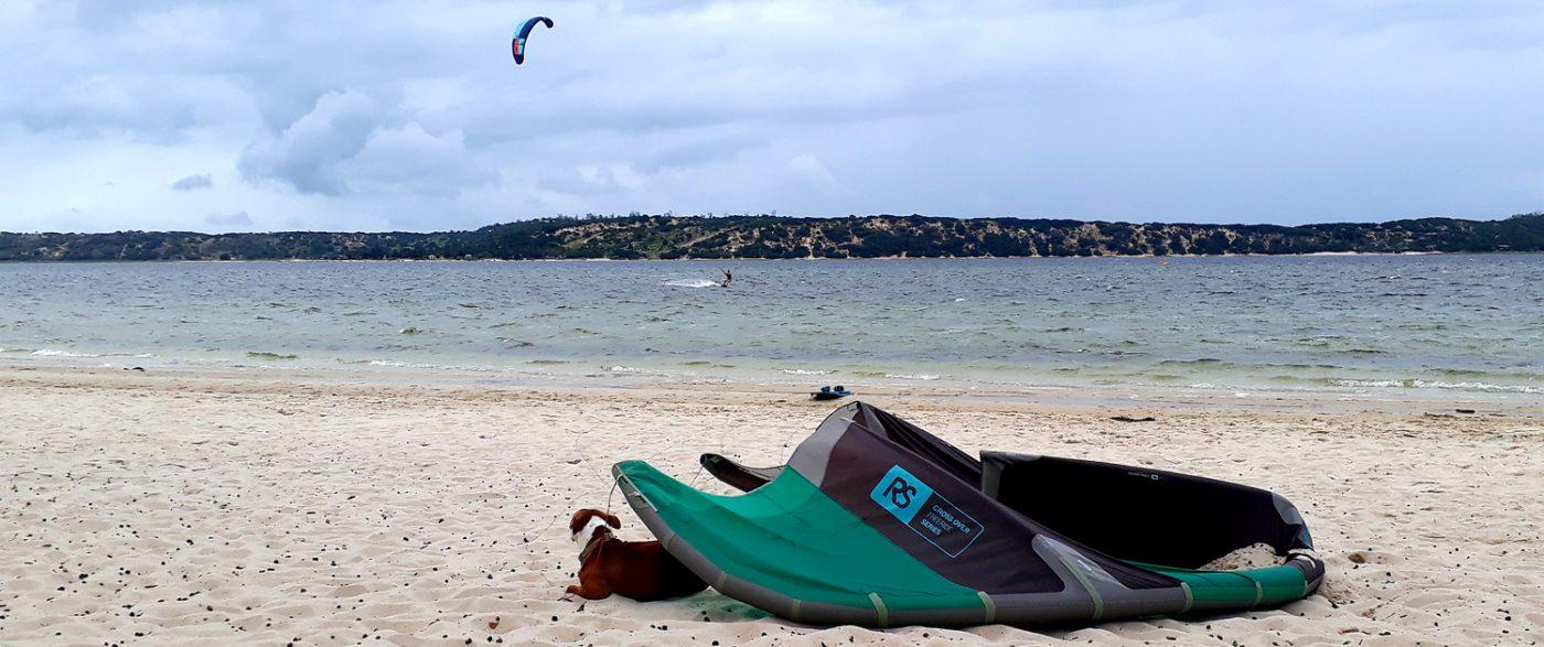 kitexperience kitesurf à Bilene