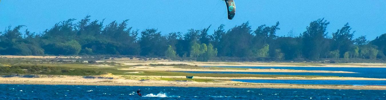 kitesurf au mozambique