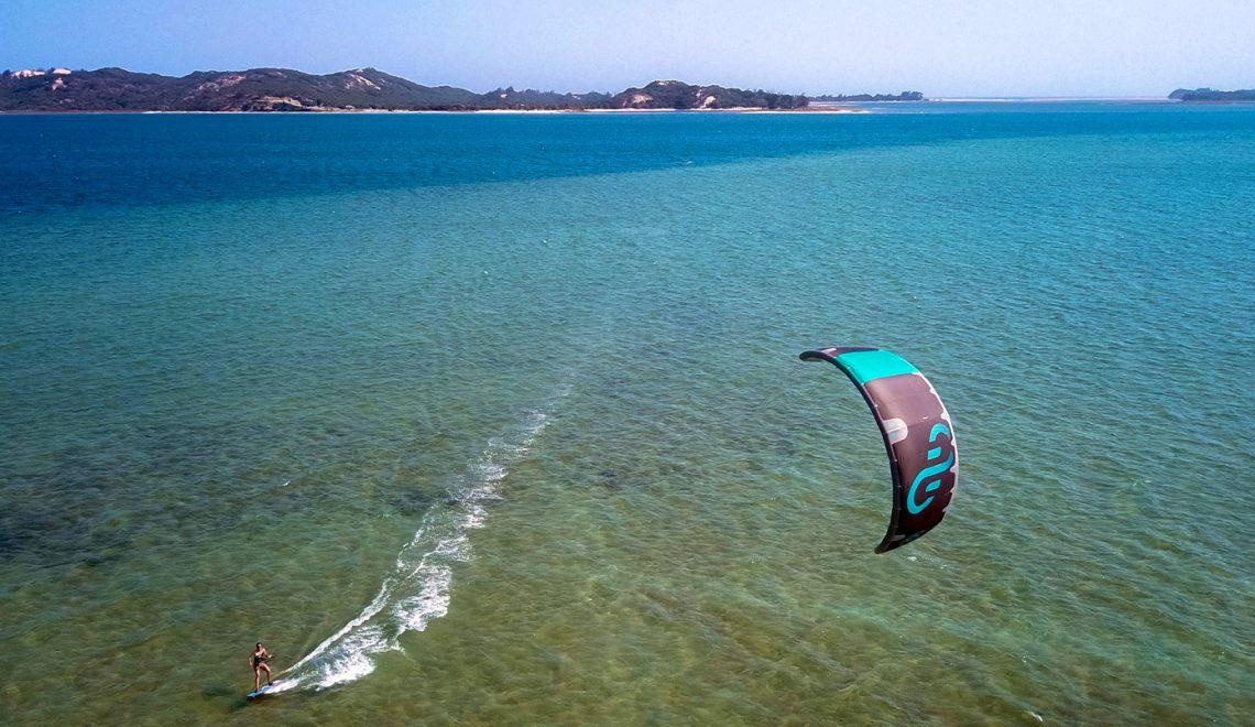 kitesurf à Bilene
