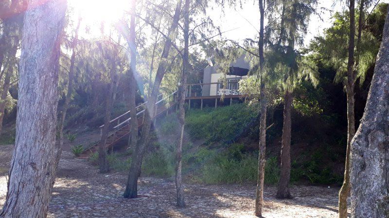 Maison privative donnant sur la plage