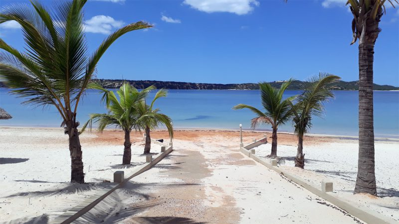 La plage de Bilene
