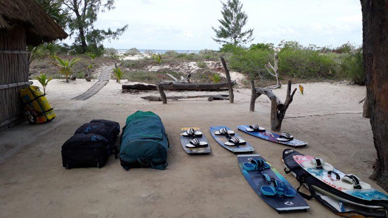kite camp mozambique