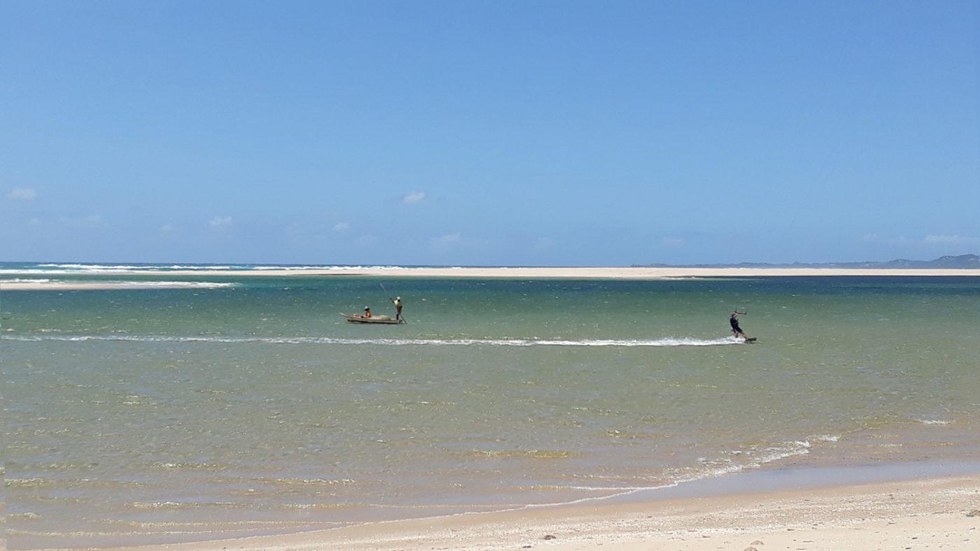 kite spot mozambique