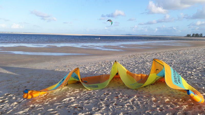 kitesurf trip au mozambique
