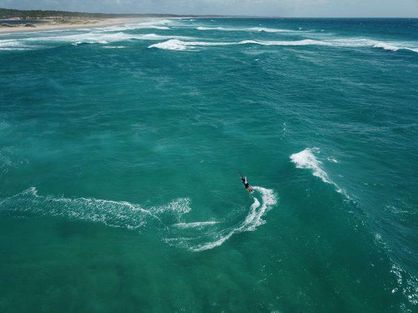 secret spot kite trip au Mozambique