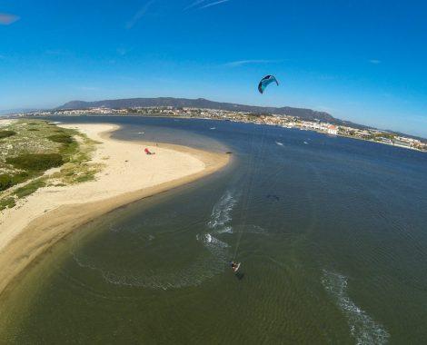 surfcamp en kitesurf Esposende, Portugal